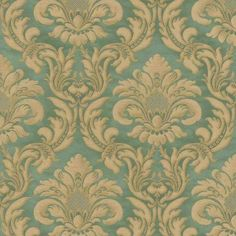 Damask Wallpapers feature beautiful patterns set on solid backgrounds. Buy from our collection of damask wallpapers. Vinyl Wallpaper, Damask Wallpaper, Pattern Wallpaper, Vintage Floral Wallpapers, Blue Wallpapers, Victorian Pattern, Victorian Interiors, Phone Cases Marble, Teal And Gold