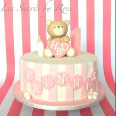 Christening 1st birthday cake ideas from fb