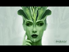 In this Advance Photo Manipulation Tutorial we will learn to create Green Witch. While doing this we will use two different images (Green Vegetable & Female . Witch Photos, Photo Manipulation Tutorial, Queen Photos, Royalty Free Music, Gradient Color, Woman Face, Green, Nature, Artwork