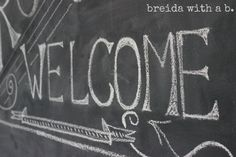 chalk board wall  breidawithab.com Chalk Design, Chalk Board, Old Things, Craft, Wall, Chalkboard, Creative Crafts, Crafting, Chalkboards