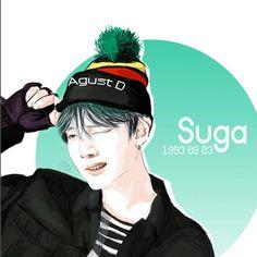 BTS Suga fanart