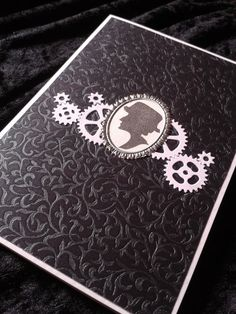Mx. Morgan  Steampunk Neo-Victorian Greeting Card  by unusuality