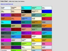 Love The Simple Names Of Color   Pantone Me