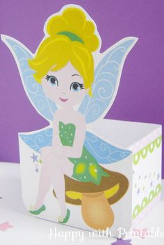 Tinkerbell party favor  Tinkerbell favor by HappywithPrintables