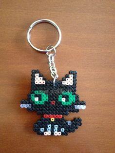 """Gato Negro (1'50 €) (from <a href=""""http://hama.piojillo.es/picture.php?/141/tags/7-animales"""">Las cosas de Hama de Ana y Santi</a>)"""