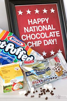 National Chocolate Chip Day is May 15th! Time to celebrate!