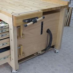 High Capacity Multi-Function Workbench - Forum - Paoson Woodworking