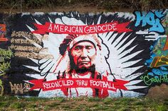 American Genocide Reconciled Thru Football  [follow this link to find a short clip and analysis of controversy surrounding the use of the #Redskins slur as the name of an #NFL team name: http://www.thesociologicalcinema.com/1/post/2013/11/racism-in-the-nations-capital-and-a-lesson-from-south-park.html]