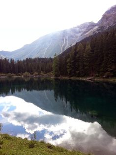 Obernberger See, Tirol Spaces, Mountains, Nature, Travel, Outdoor, Natural Colors, Plants, Lawn And Garden, Outdoors