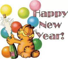 Happy New Year! #Garfield