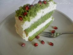 Torta Zelený mach Cheesecake, Pudding, Sweet, Food, Ale, Basket, Ganja, Food Cakes, Recipes