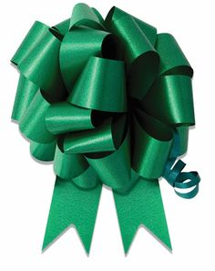 10-5' Emerald Green Pull Bow Pew Bows Wedding Decorations Christmas Gift Wrap *** Continue to the product at the image link.