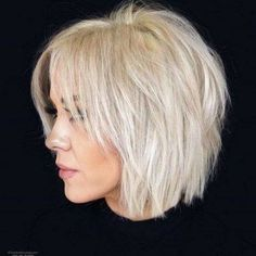 37 best medium bob hairstyles for ideas 2020 braids hairstyles besthairstyles braidedhairstyles twobraids boxbraids latest hairstyles 2020 in 2019 short hair with layers charming short hair look mikaatbhc via amikaatbhc bunhairstyl short hair styles Bob Hairstyles For Fine Hair, Layered Bob Hairstyles, Hairstyles For Round Faces, Short Hairstyles For Women, Cool Hairstyles, Latest Hairstyles, Bob Haircuts, Hairstyle Ideas, Wedding Hairstyles