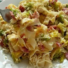 Hungarian Cuisine, Tasty Dishes, Potato Salad, Cabbage, Bacon, Food And Drink, Meals, Dinner, Vegetables