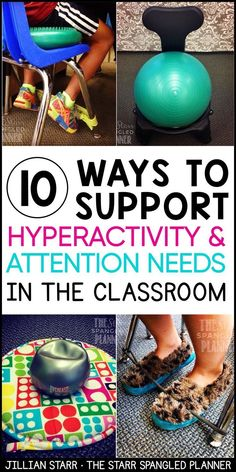 Support your students struggling with hyperactivity and attention needs in your classroom. These tools can help ALL students, not just students with ADHD, sensory or attention needs. These are 10 of my favorite tools to help my students in my classroom. Classroom Tools, Special Education Classroom, Autism Classroom, Classroom Management, Classroom Ideas, Preschool Behavior Management, Inclusion Classroom, Organization And Management, Behaviour Management