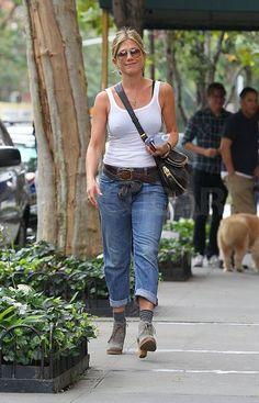 #JenniferAniston in NYC.