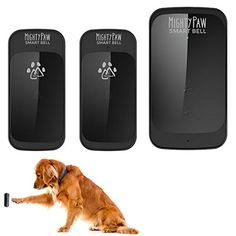 Mighty Paw Wireless Waterproof Doorbell with Touch Pad Sensor and Training Guide for Dogs 2 Transmitters * Read more at the image link.