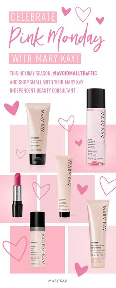 Nothing beats pink! Your Mary Kay Independent Beauty Consultant can find the perfect gift for everyone on your holiday list.