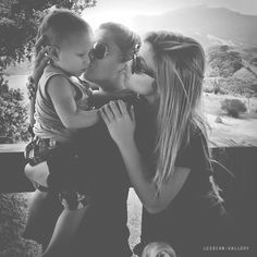 So much love in the photo...#lesbian