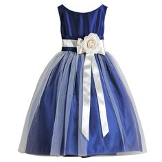 Sweet Kids Royal Blue Tulle Special Occasion DressGirl 4-12 - Easter Dresses - Girls Dresses - Girls Clothes