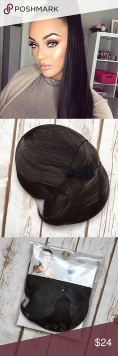 - Bellami - Faux Wrap Ponytail 🔸item has been opened, but not used 🔸Color was too light for My almost black hair 🚨No refunds accepted/ Final sale 🚨Stock photos used for styling and to show length BELLAMI Accessories Hair Accessories