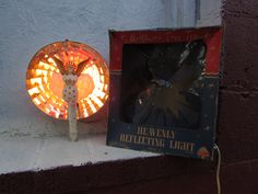 Bradford Vintage Lighted Angel Heavenly Reflecting Christmas Tree Topper in Original Box by VeiledThroughTime on Etsy