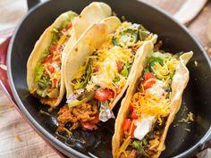 Harte Schale, würzig-weicher Kern: Knusprige Tex-Mex-Tacos