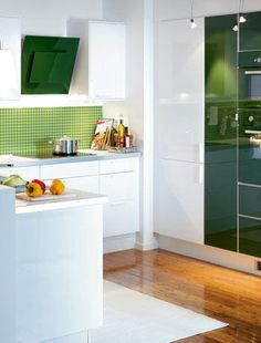 Ikea Green Kitchen