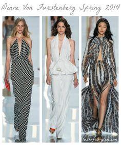 b1e94c67 Lush Fab Glam Blogazine: The Best Of New York Fashion Week Spring 2014.  Diane