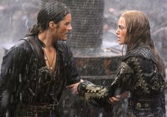 Elizabeth Swann and WIll Turner from Pirates of the Caribbean