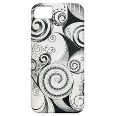 ABSTRACT ATTACK PROTECTIVE I-PHONE CASE iPhone 5 CASE