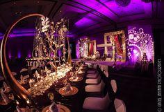 Wedding reception at the Ritz Carlton Orlando, Grande Lakes. Lighting by keventlighting.com #ritzcarlton #orlando #wedding