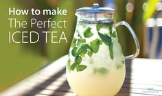 How to make the Perfect Iced Tea | Steeped Tea | Start Your Tea Business Today