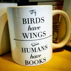 Love this mug for a gift idea for book lovers.
