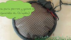 Cama de Trapillo XL ( perro o gato ) / Bedof Trapillo XL (dog or cat )
