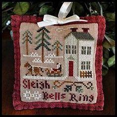 Little House Needleworks - 2012 Ornament #4 - Sleigh Bells Ring – Stoney Creek Online Store