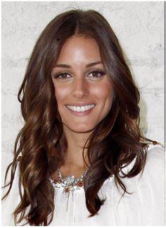 Olivia Palermo loose curls hair