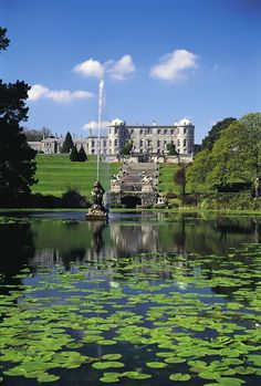 A charming walled garden, striking terraces and fine statuary. Enjoy the splendors of the Powerscourt House and Gardens in County Wicklow.