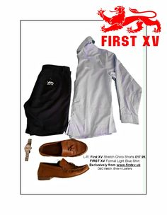 First XV Clothing. From the #summeressentials #menswear #wardrobemusthaves #shorts #chinos #loafers #watch #D&G #clothing #footwear #shirt Exclusively online from www.firstxv.uk
