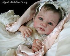 RAINER~ROMIE STRYDOM~ Reborn Baby Girl~SOLD OUT HTF~Glass Eyes~Gorgeous