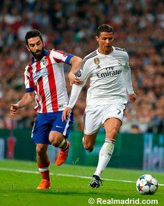 Real Madrid 1-0 Atlético de Madrid at Estadio Santiago Bernabéu #HalaMadrid