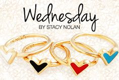 With her subtle presence and charming cuts, Stacy Nolan's made Wednesday the perfect collection for everyday elegance. And since she's part of Kitsy Lane's in-house design team, we couldn't pass up the chance to show off her chic wares!