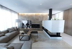 Wall Design In The Living Room 85 Ideas And Modern Examples . Salon Design, Decoration, Lights, Living Room, Interior Design, Loft, House, Furniture, Home Decor