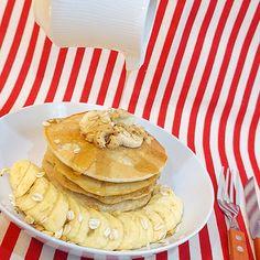 Banana nutty pancakes