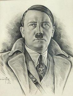 Pencil drawing of a mass murderer.