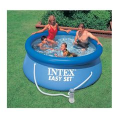 Intex 2.4m (8ft) Easy Set Pool Set | Toys R Us Refill time 2.5 hours