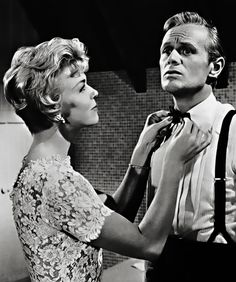 Doris Day & Richard Widmark in 'The Tunnel of Love.'