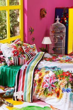 Bettbezug mit Blumenmuster | Desigual Jungle