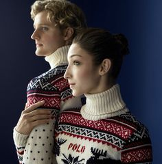 2014 Winter Olympics in Sochi: Team USA. Ralph Lauren – Meryl Davis & Charlie White have been skating together for over 16 years. Winter Olympics 2014, Usa Olympics, Olympic Team, Olympic Games, Ralph Lauren Love, Meryl Davis, Team Usa, Figure Skating, Ice Skating