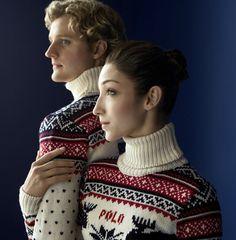 2014 Winter Olympics in Sochi: Team USA Uniforms by @Ralph Holzmann Lauren  – Meryl Davis & Charlie White #icedancing #iceskating #figureskating
